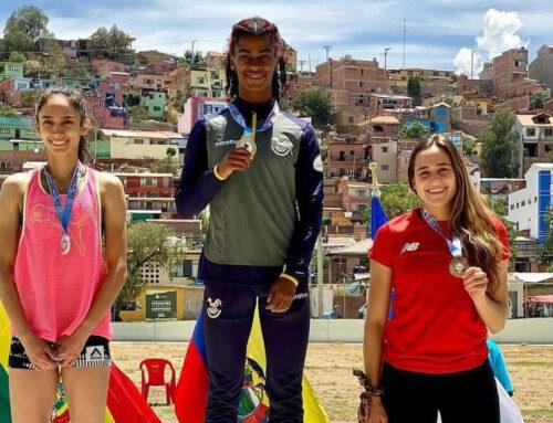 Anahí Suárez se bañó en Oro en el Grand Prix de Cochabamba Bolivia
