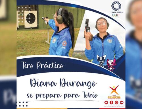 Diana Durango en la Recta Final de su preparación para Juegos Olímpicos de Tokio