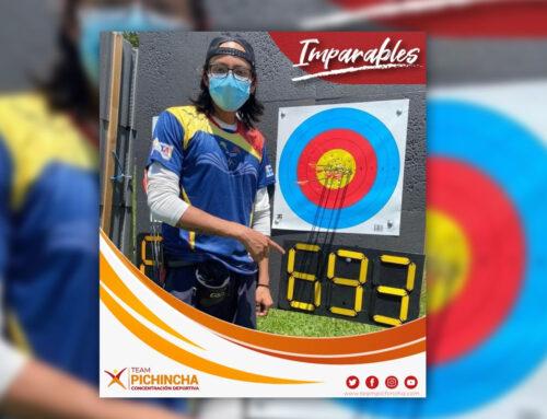 Pichinchano Mateo Oleas clasifica a Juegos Panamericanos de La Juventud en Tiro con Arco