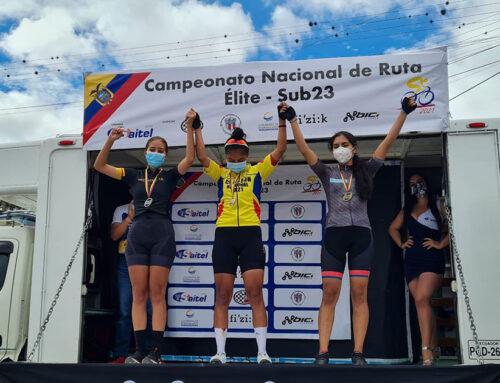 Pedalistas Oro y Grana Sobresalieron en Nacional de Ciclismo