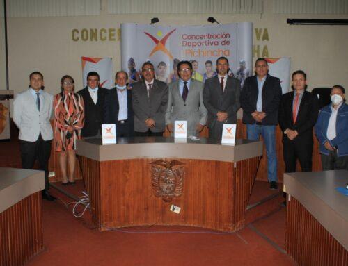 En Marcha Juegos de la Provincia de Pichincha