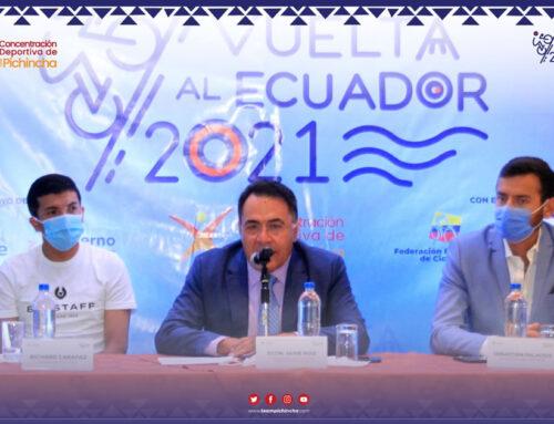 Presentación XXXVIII Vuelta Ciclística al Ecuador